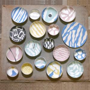 Séverin Millet - Pièces en porcelaine réalisées en collaboration avec l'Atelier Janvier.<br> 2016