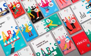 """Séverin Millet - Illustrations réalisées pourL'Office du Tourisme et des Congrès de Paris.<br>Conception graphique : <a href=""""https://www.grapheine.com/"""" target=""""_blank"""" rel=""""noopener noreferrer"""">Agence Graphéine</a>."""
